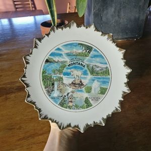 Montana National Park Decor / vintage / travel